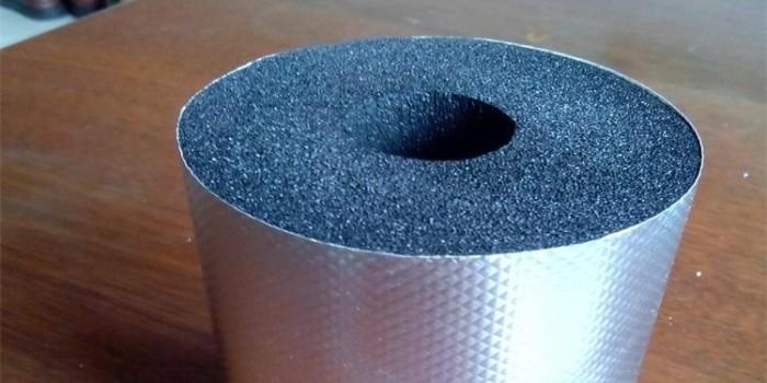 铝箔贴面橡塑保温管价格表