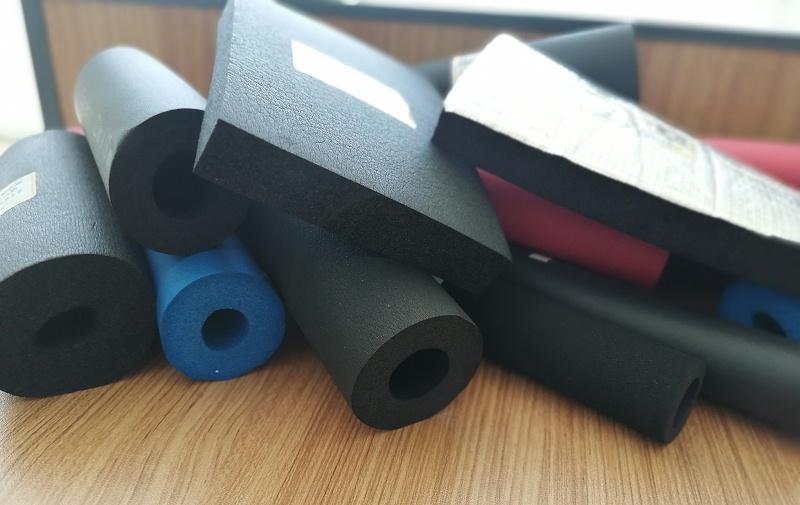 中亚橡塑保温管和橡塑保温板