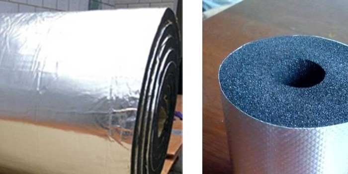 铝箔橡塑保温板的突出特点是什么-隔热保温效果佳[中亚保温]