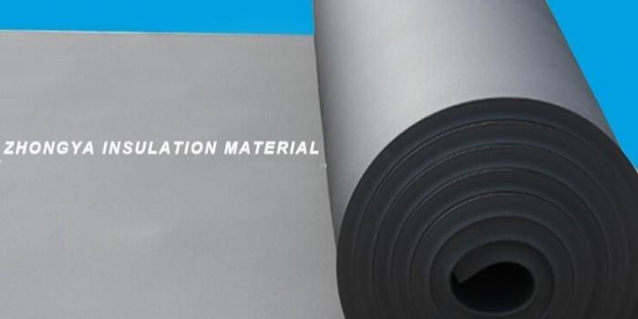橡塑保温板是什么材料做的?又是如何做成的?(中亚保温)