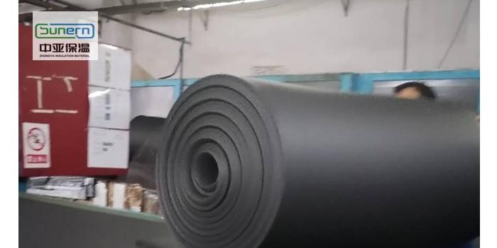 厂家直销黑色橡塑保温板