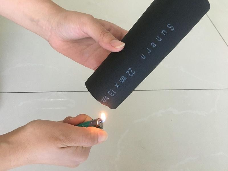 橡塑保温材料防火测试