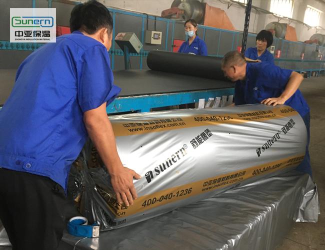 海绵橡塑保温板生产厂家