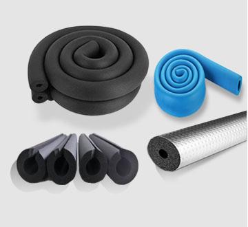 橡塑保温管,预切橡塑保温管