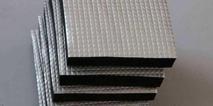 铝箔复合橡塑保温板特点如何?用途是什么?(中亚保温)
