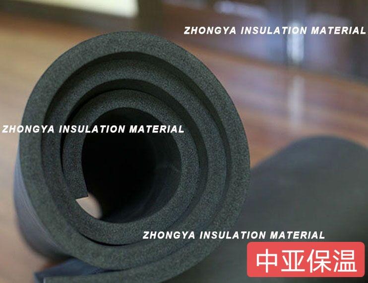 b1级贴铝箔橡塑保温板厂