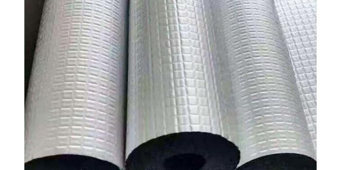 带铝箔的橡塑保温管施工的时候应该注意什么?【中亚保温】