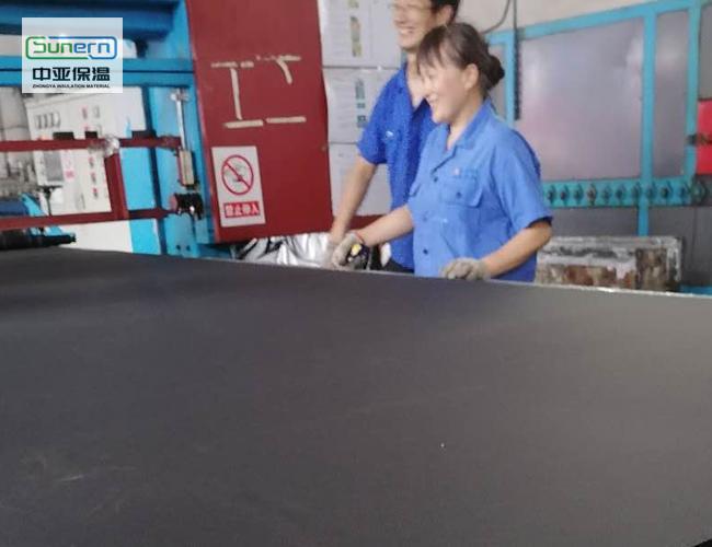 橡塑保温板的材质