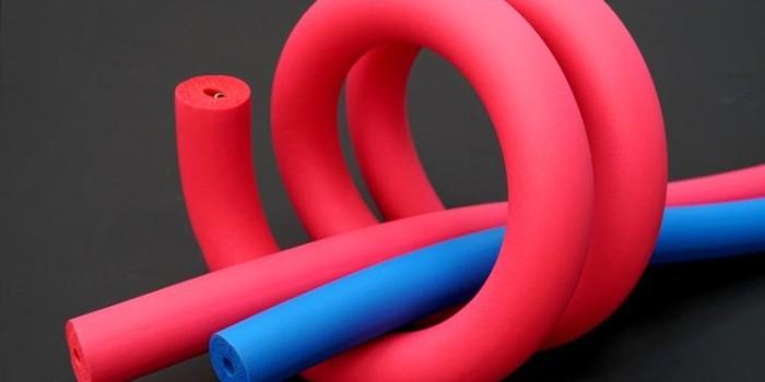 彩色橡塑保温管特点如何?中亚保温可定制批发