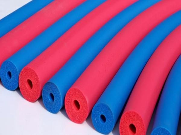 彩色橡塑保温管