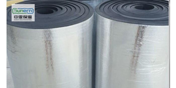 厂价批发铝箔防火橡塑保温板