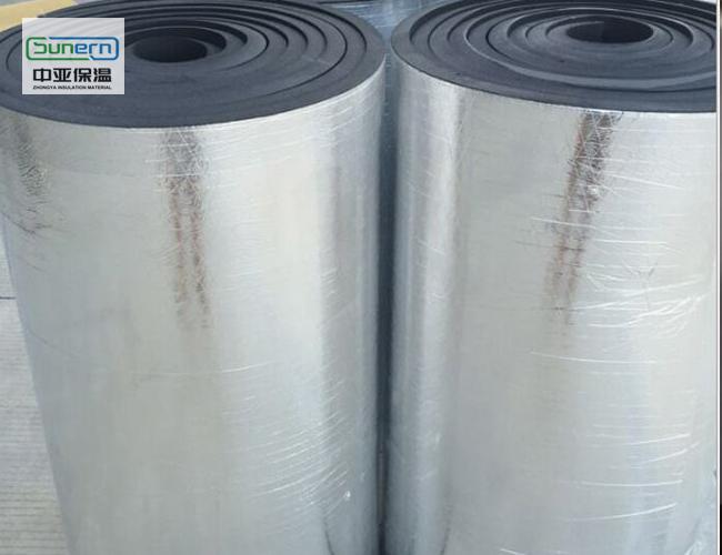 铝箔防火橡塑保温板