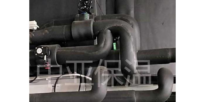 橡塑保温管能承受多少温度--40℃-105℃之间【中亚保温】