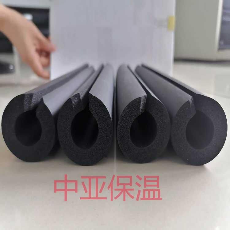 中亚英索乐斯预切橡塑保温管