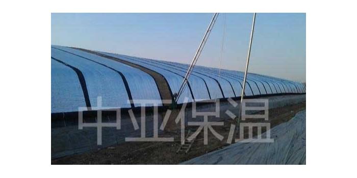 屋顶用铝箔橡塑保温材料保温隔热效果好(中亚保温)