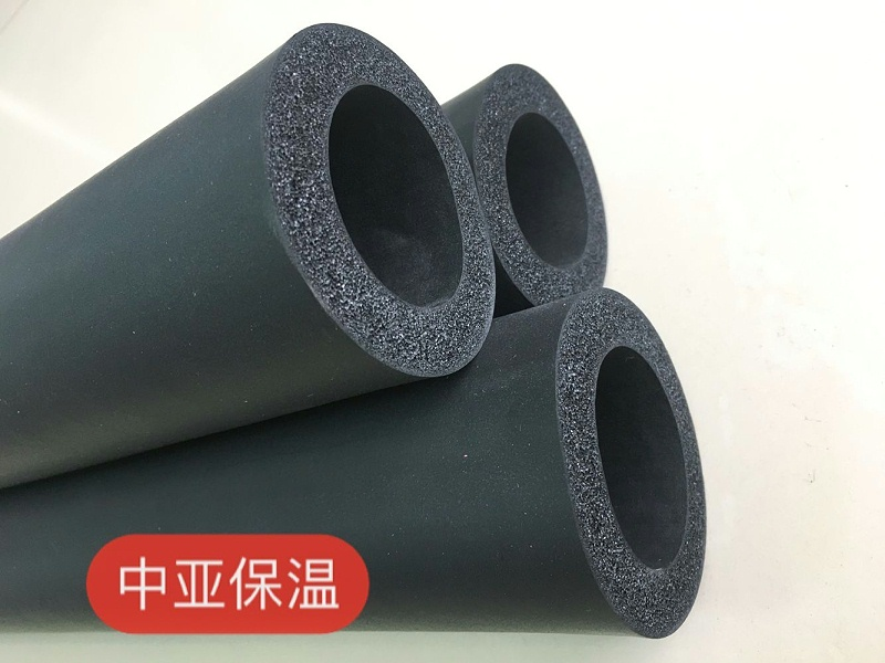 中亚橡塑保温管用在空调上