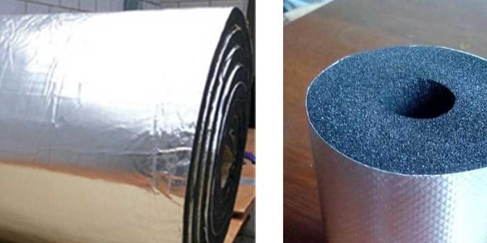 铝箔复合橡塑保温材料是一种什么样的材料?