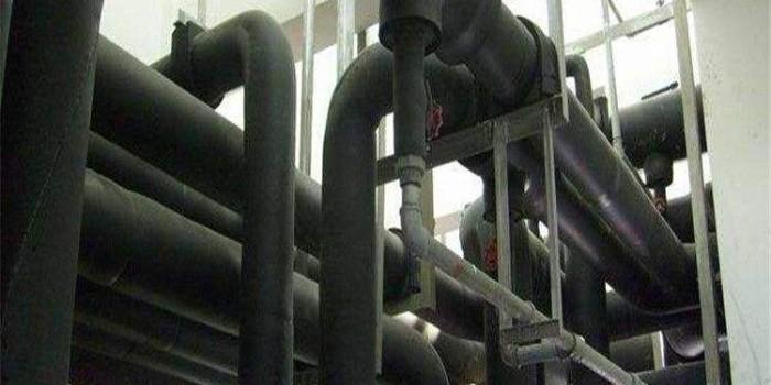 中亚橡塑保温材料的应用