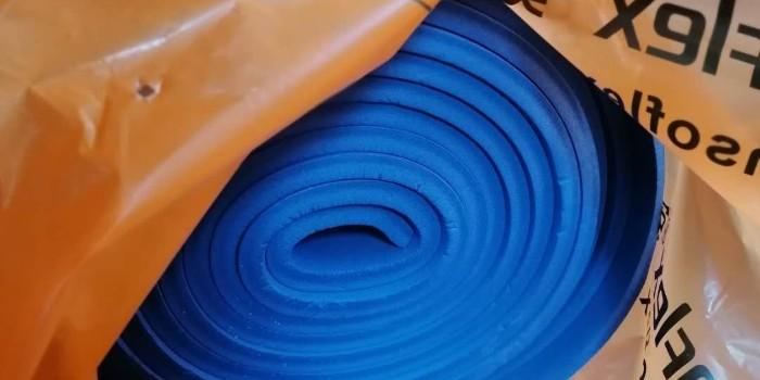 彩色b1级橡塑保温板哪里有-这里有厂家直销【中亚保温】