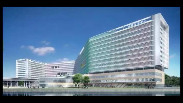南通市第一人民医院新院,中亚橡塑保温板的应用