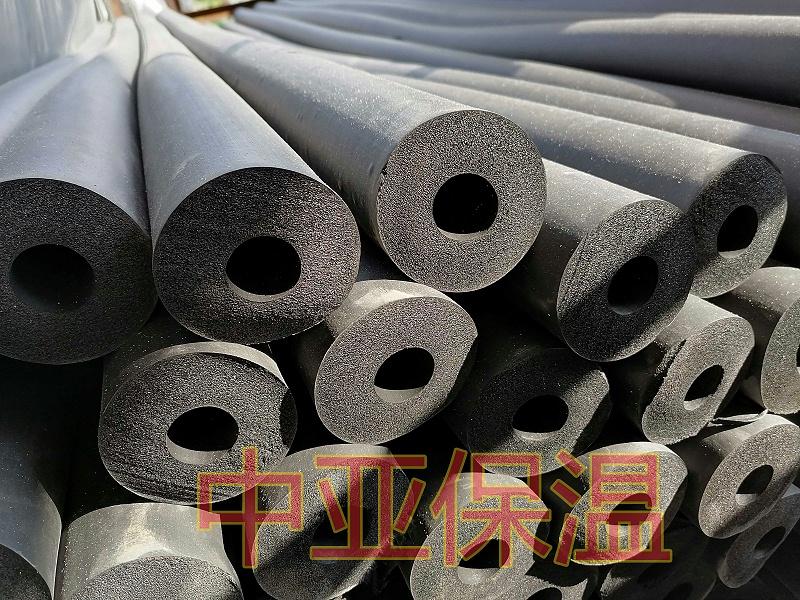 中亚保温橡塑保温管不用保护层
