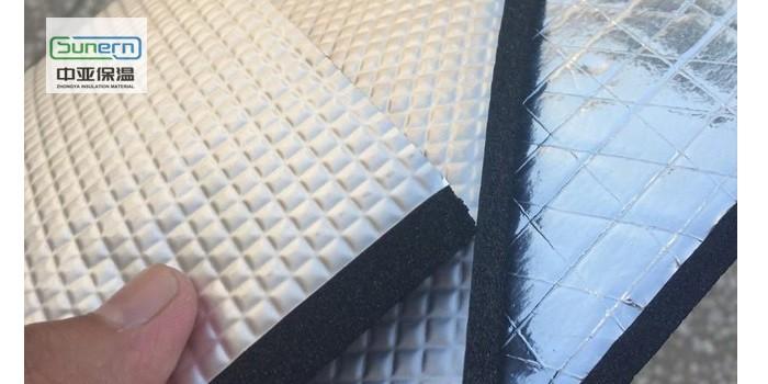 厂家直销贴铝箔橡塑复合保温板