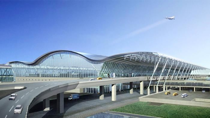 虹桥机场T2航站楼使用中亚橡塑保温板