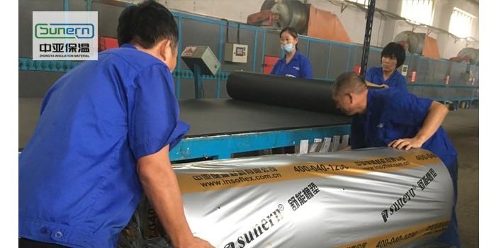 阻燃b1级橡塑保温板批发价