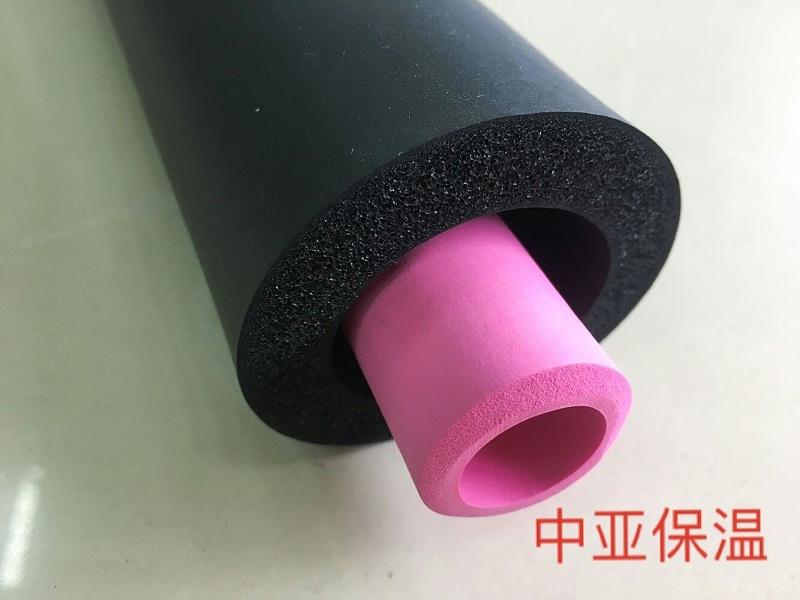 中亚保温橡塑保温管导热系数低