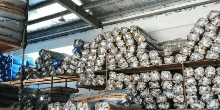 施工现场如何正确存放橡塑保温板材【中亚保温】