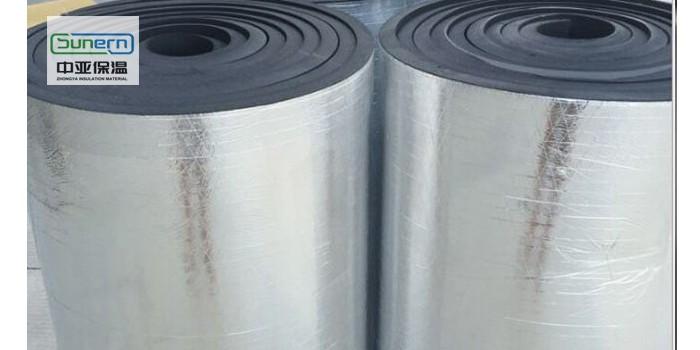 贴铝箔橡塑保温板供应商