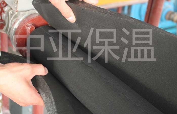 橡塑保温板包水管